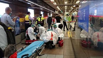 北捷乘客突倒地!熱血男秒衝CPR搶命 雙手染血身分曝