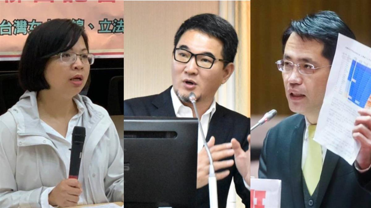 萊豬表決3綠委跑票 民進黨團決議停權3年罰3萬