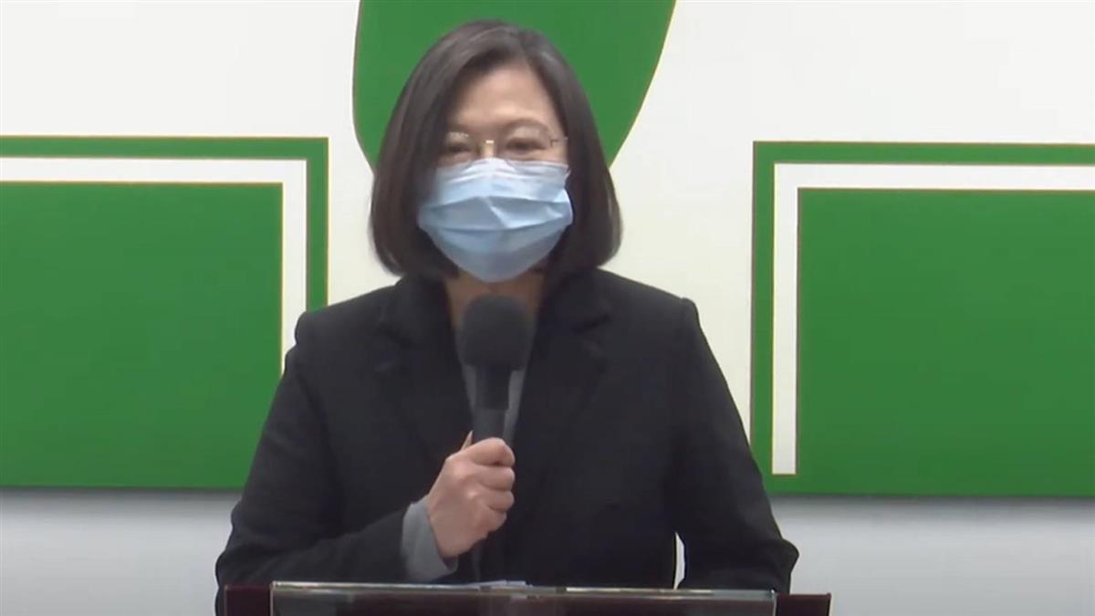 年終談話 蔡英文:防疫成功讓台灣成為最安全的地方