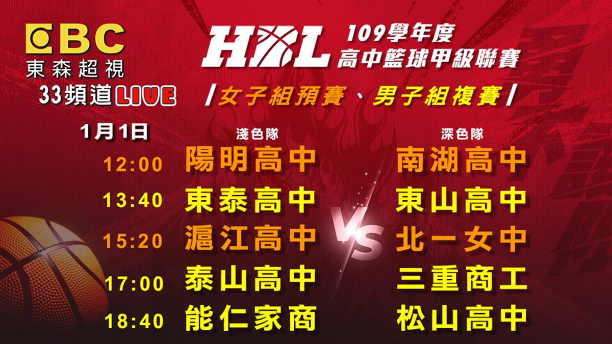 HBL男複賽、女預賽第3天!最強矛盾對決 精彩賽事在東森超視