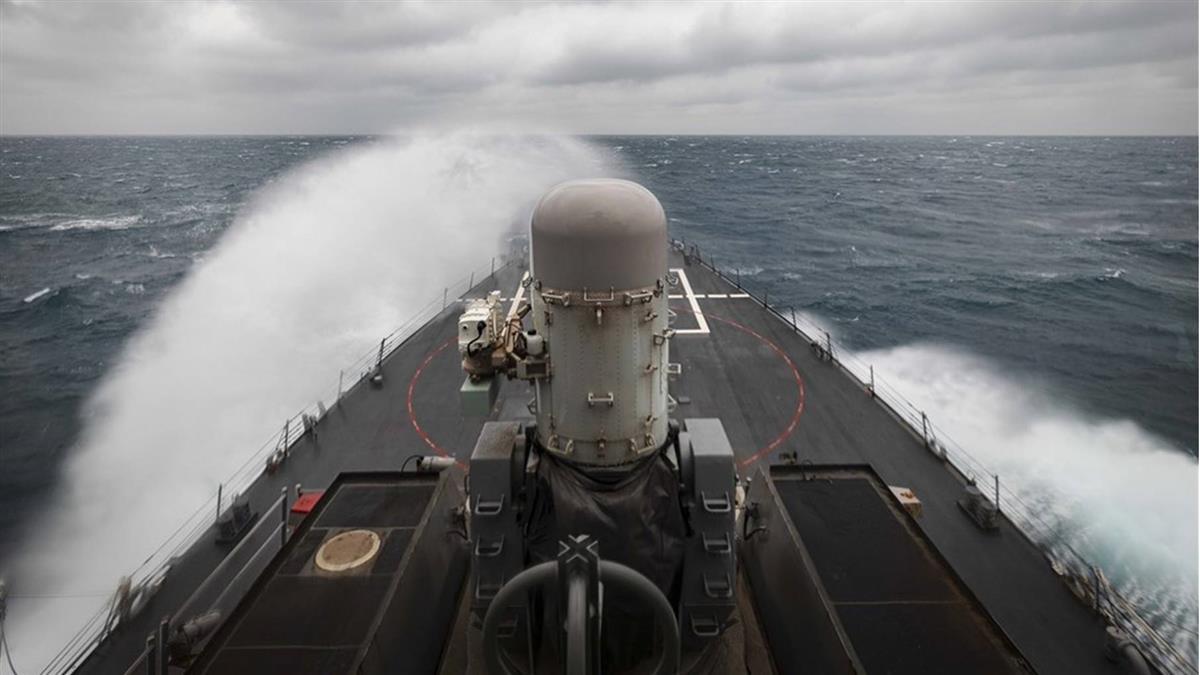 本月第2次 美國驅逐艦通過台灣海峽