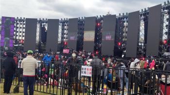 張惠妹跨年演唱會登場 已近3萬人入場