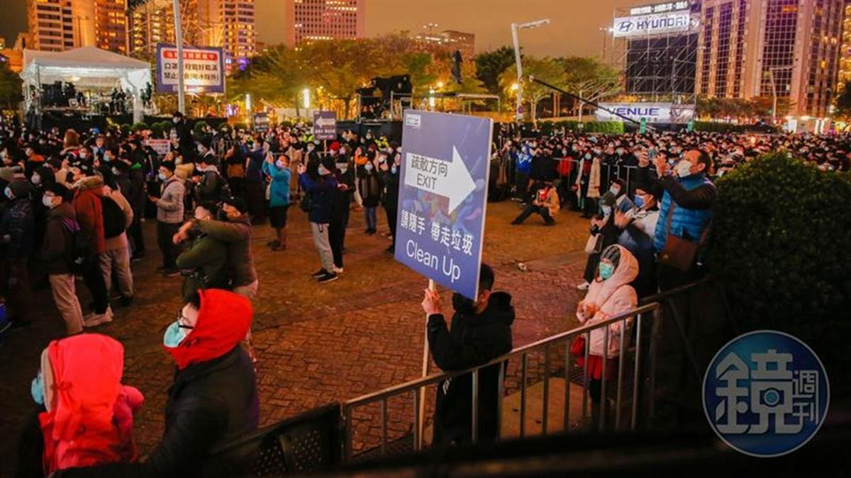 台北跨年人數驟減 黃子佼曝「今昔對比數字」嚇傻