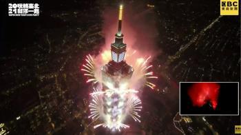 直播中/台北迎接2021年 300秒絢麗煙火超震撼