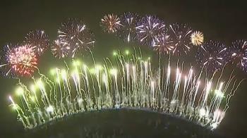 澳洲迎接2021 璀璨煙火點亮雪梨港灣大橋