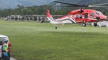 元旦假期組團登白石池 不慎摔傷空勤急救援