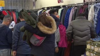下週冷氣團再報到 特賣會外套、棉被搶翻天