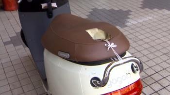 全國首例!賊燒電動機車椅墊 破壞車體偷電池