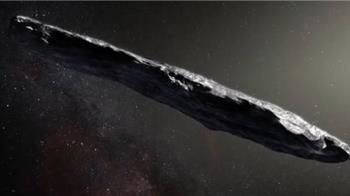 外星文明2017曾造訪?「雪茄狀」物體疑為外星垃圾