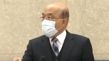 視察台北港豬肉進口作業 蘇揆:逐批查驗顧食安