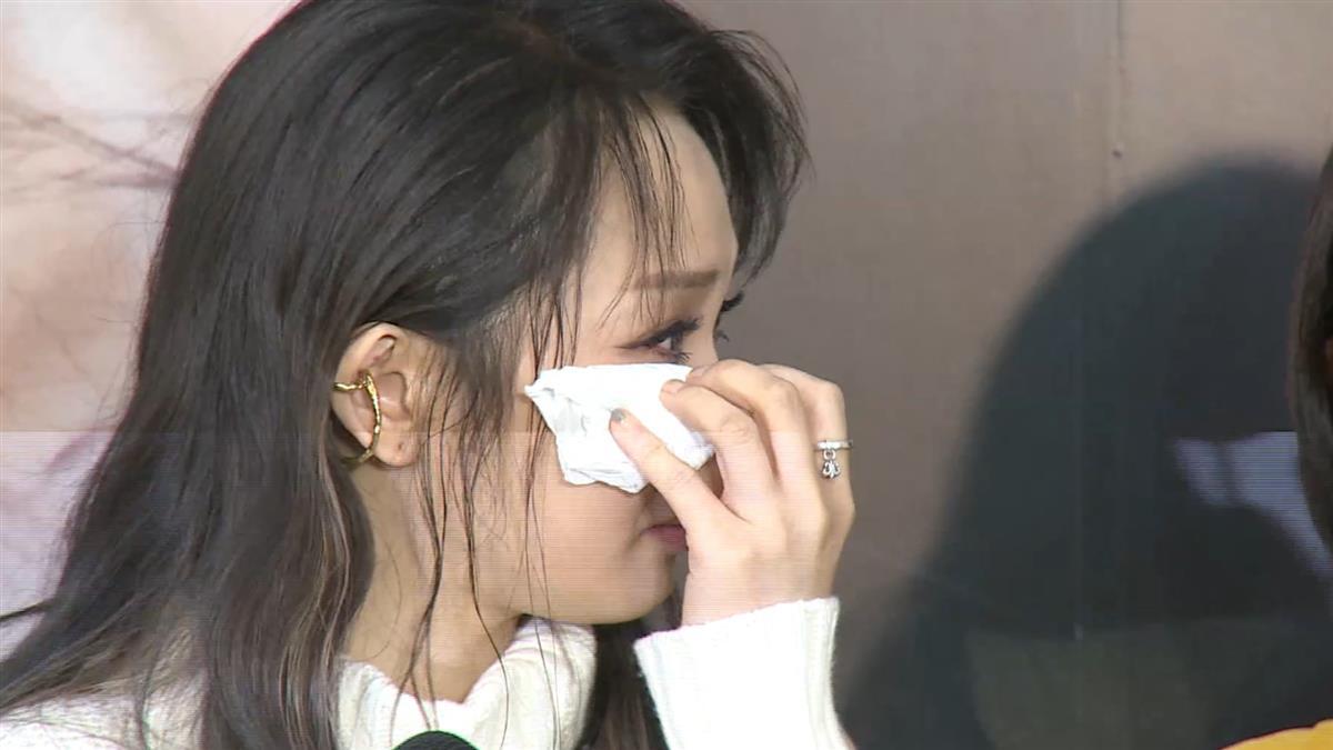 朱俐靜哭認罹患乳癌 消失2年終於現身:每天都痛苦