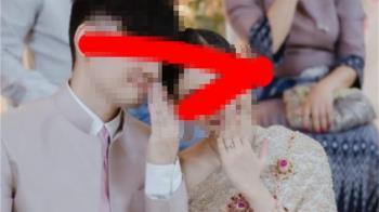 人妻網路甜曬婚紗照 陌生女一看驚喊:他和我姊結婚了