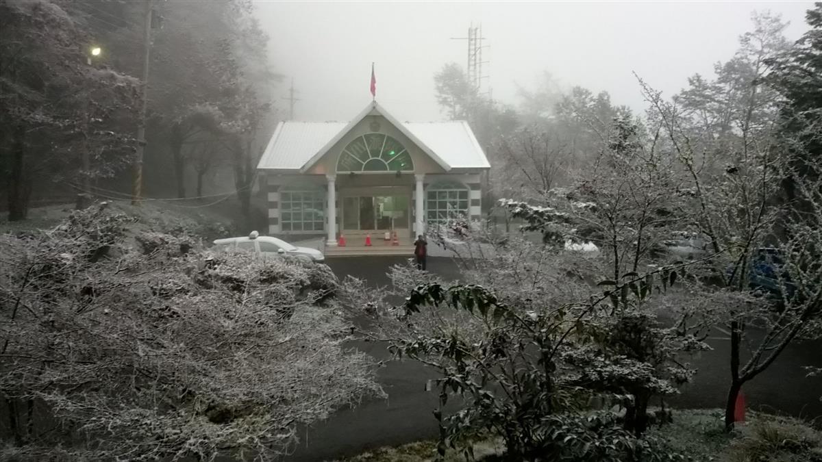 寒流急凍7縣市有望降雪 專家曝模擬降雪圖「2點後機率高」