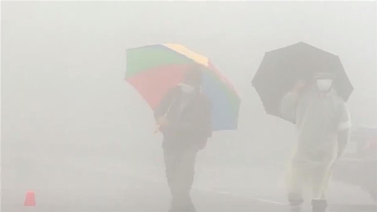 陽明山下大雨濕濕冷冷 登山客:聽說可能下雪