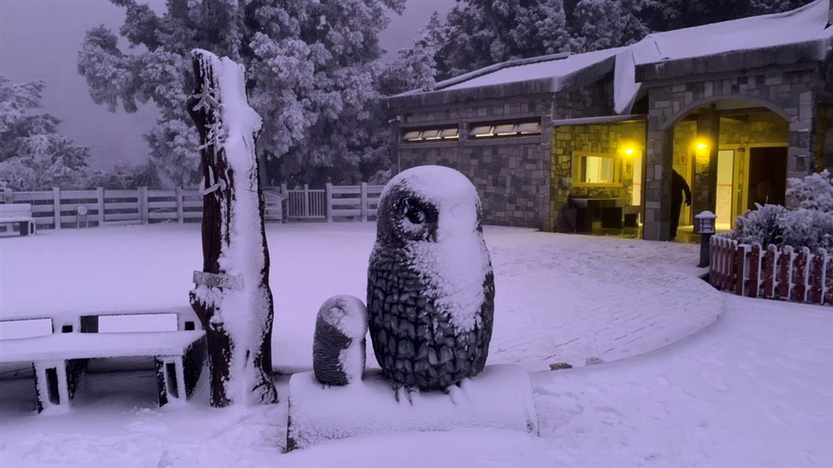 把握時間賞雪!全台17縣市低溫探6度 午後轉乾冷