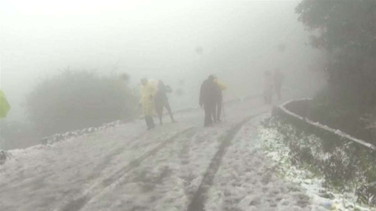 高山道路結冰積雪 這4路段傍晚起預警性封閉
