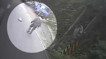 獨/10萬放包包!新北婦騎車掉路上 一看行車紀錄器氣炸