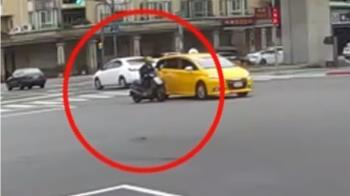 獨/好冷!75歲翁騎車手凍僵險撞車 又因腳麻慘摔