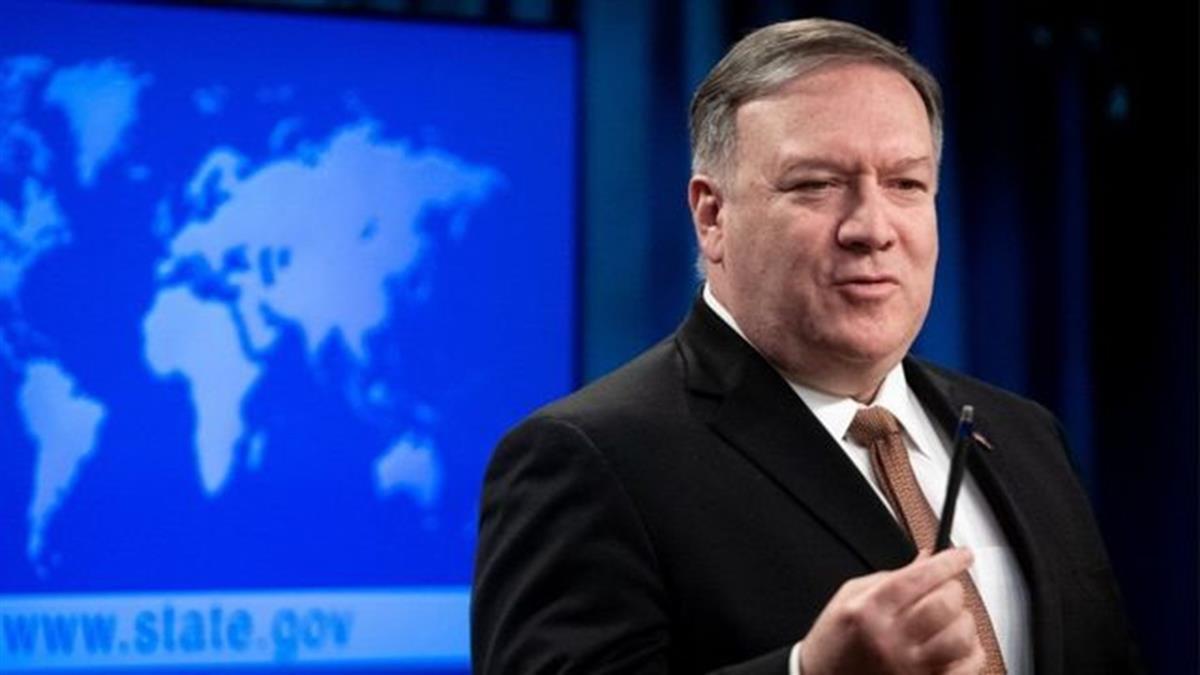 美國國務卿蓬佩奧稱將解除美台聯絡自設限制