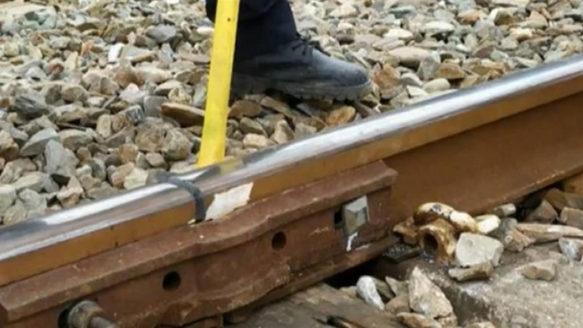 寒流急凍鋼軌 台鐵連續3天發生4起斷軌