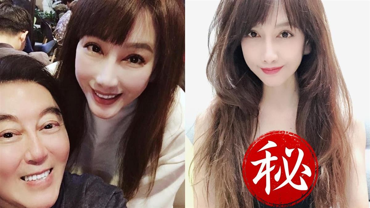 48歲陳子璇炸黑蕾絲雙球 親曝「怕提到高國華」原因
