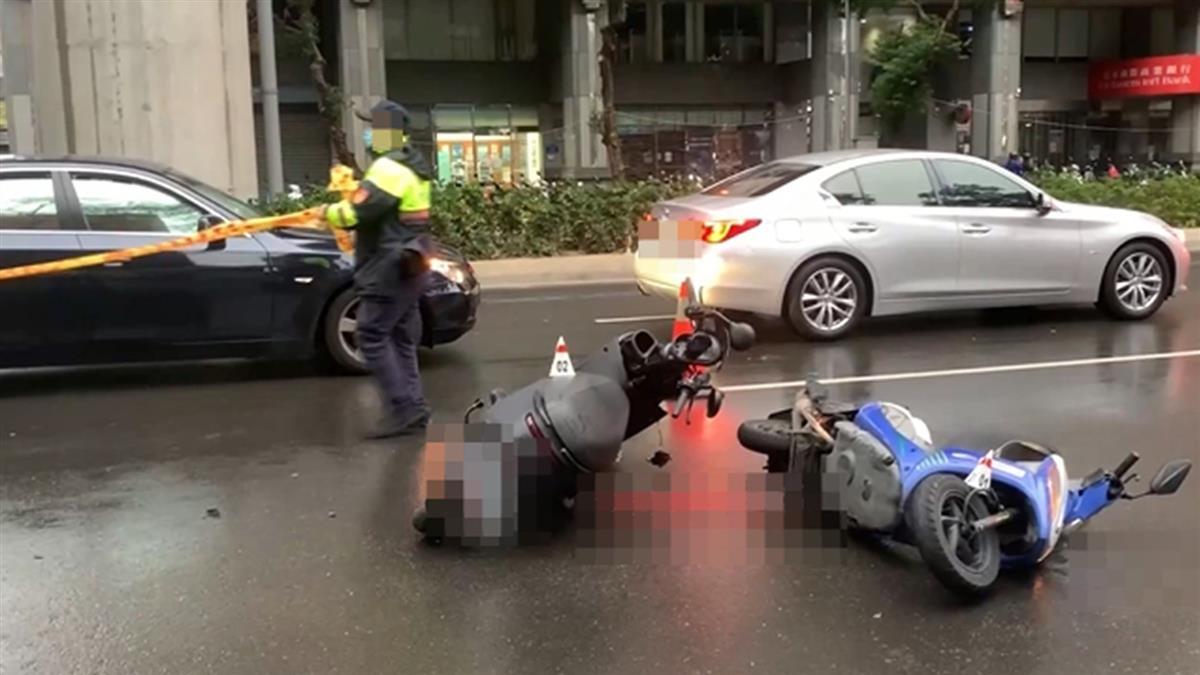 台中保全自摔遭3車輾壓慘死 肇逃駕駛:以為撞到車