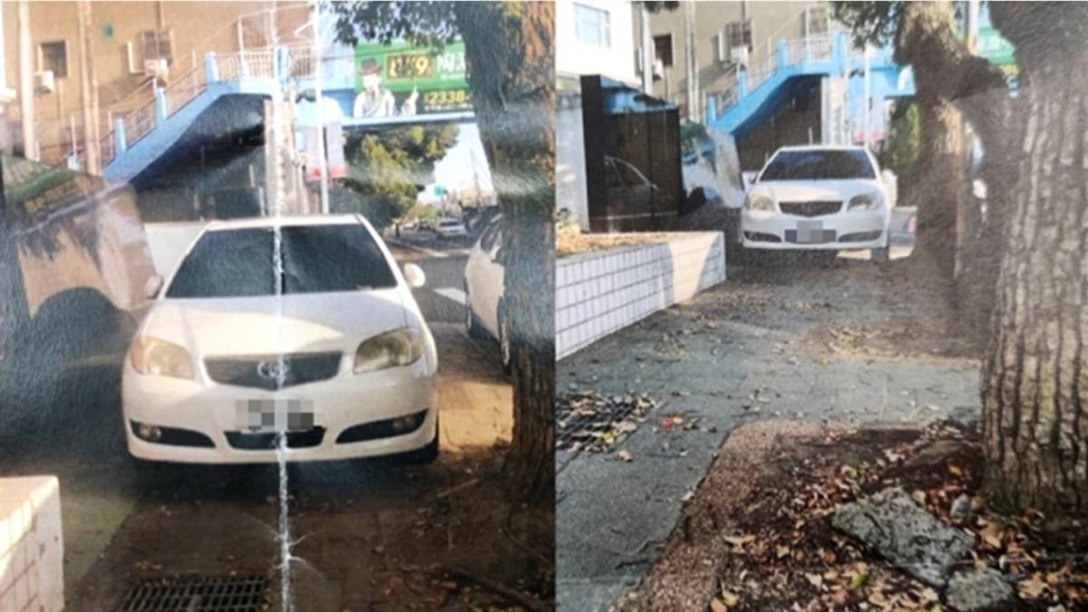 獨/違停人行道4分鐘「連收2罰單」 車主嚇:該不會還有第3張
