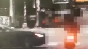 「海神」路口碰撞機車二傷 駕駛酒測值0.55送辦