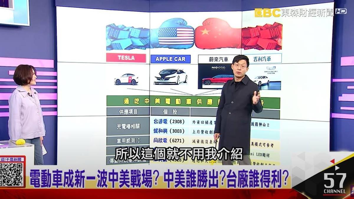 中美電動車大戰 台廠供應鏈誰得利?分析師喊讚5檔受惠股