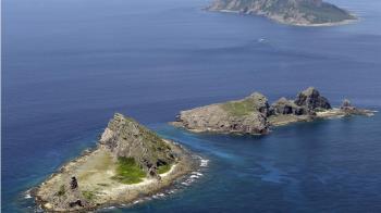 中國4海警船航行釣魚台海域 日海保本部警戒