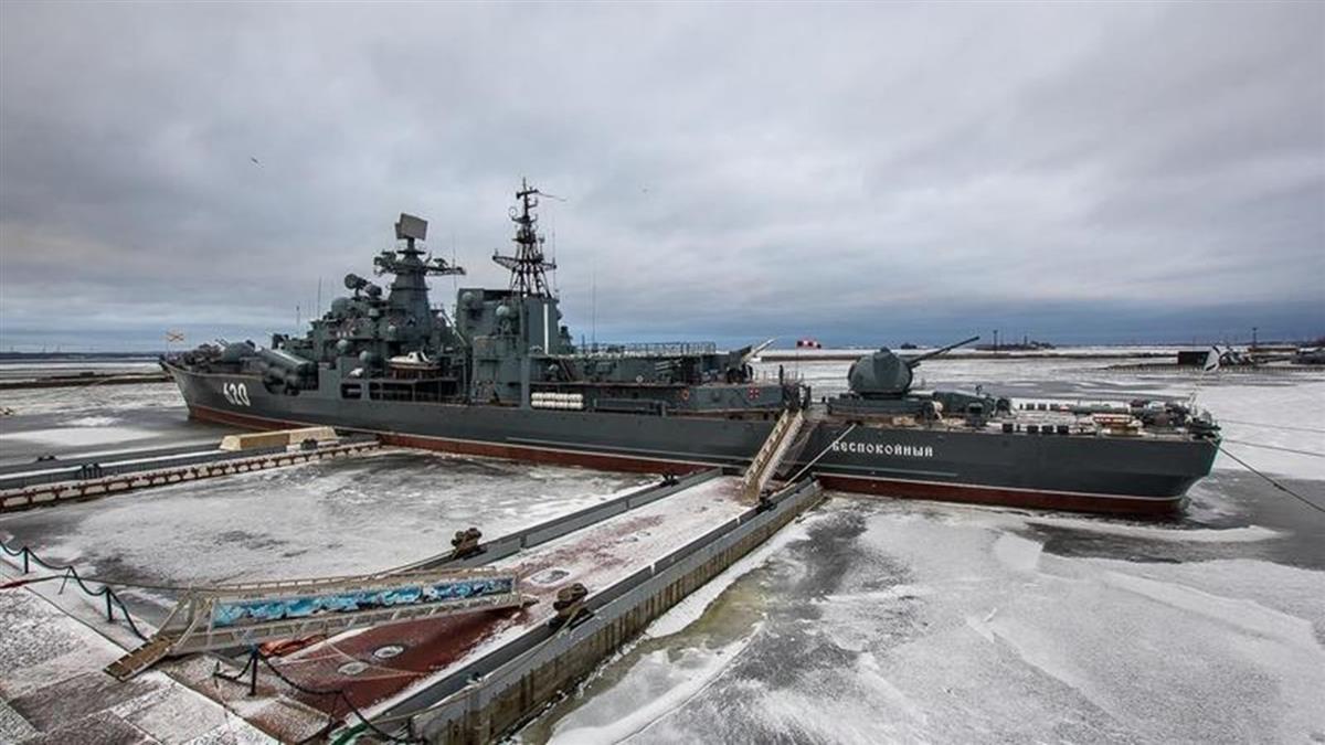 前艦長偷龍轉鳳! 俄驅逐艦13噸重螺旋槳遭竊價值千萬