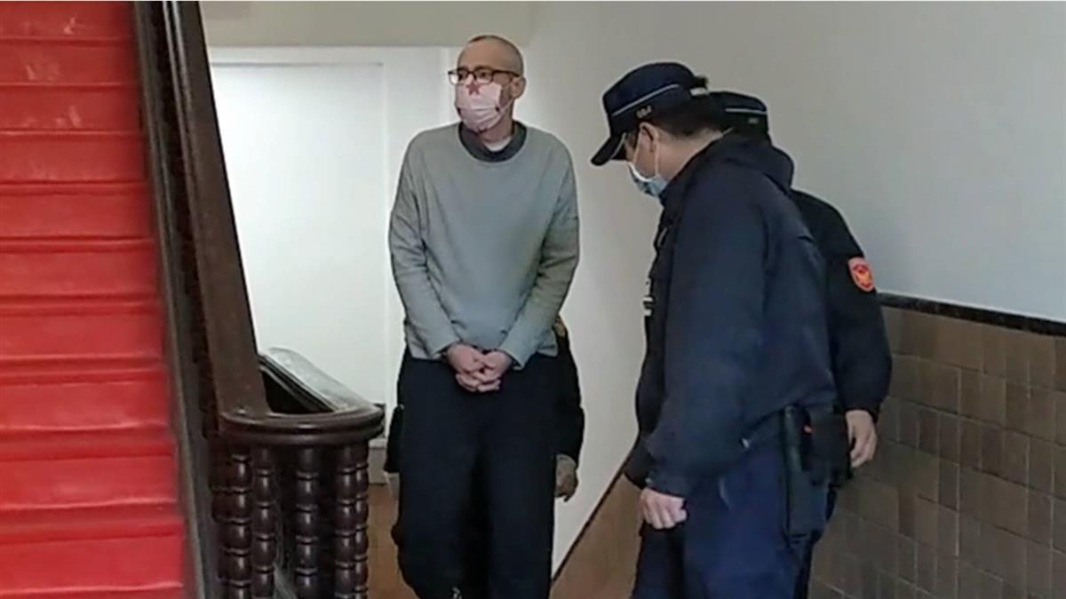 美籍英語老師在台販毒又分屍 二審遭判無期嗆審理不公