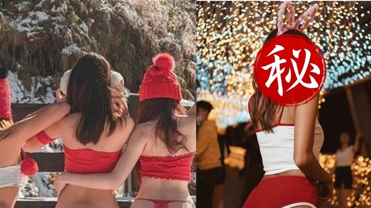 蓬萊仙山比基尼辣妹被神到 正妹一夜狂吸4千粉