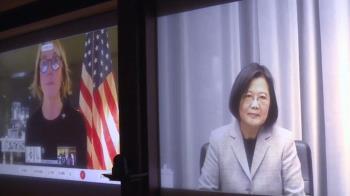 克拉芙特無緣訪台 蔡總統以視訊進行對談