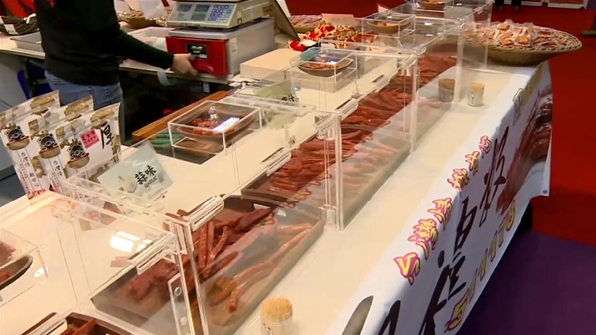 世貿年貨大街開賣 防疫規定不能試吃攤商出奇招
