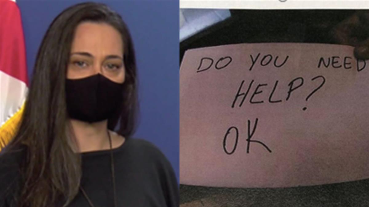 11歲男童遭家暴全身瘀青 正妹服務生用1張紙條救人