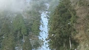 追下雪撲空!太平山積雪美景 民眾讚嘆:太美了