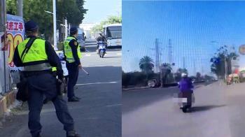 警察換新制服被當保全 騎士沒受檢挨罰獲撤單