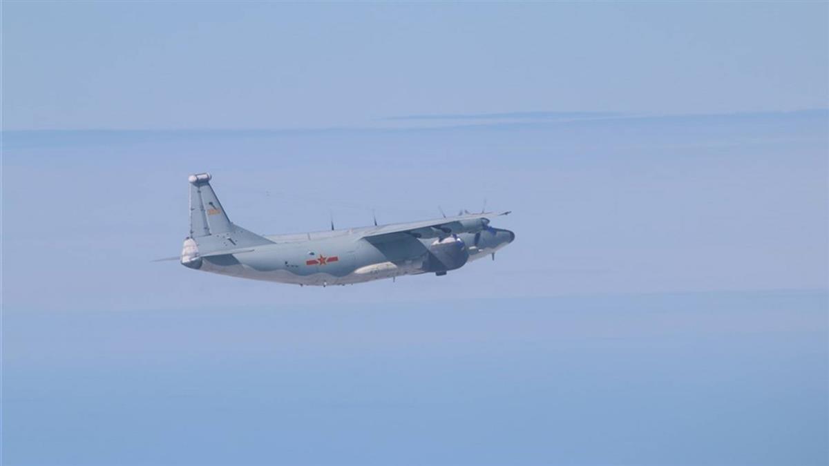 共軍運8遠干機擾台ADIZ 空軍廣播驅離