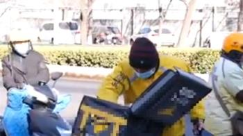 「我要我的血汗錢」外送員街上自焚 平台緊急回應了