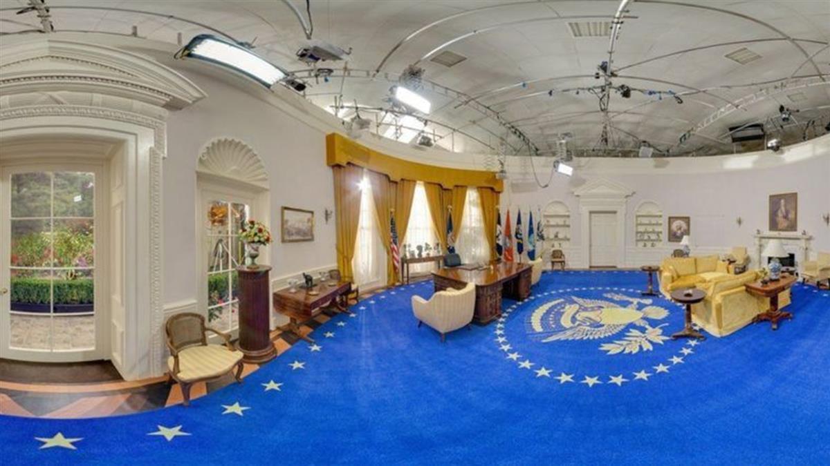 美國總統就職:英國諾福克的「山寨版」白宮