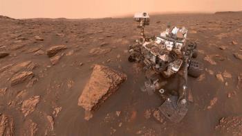 NASA火星探測3000日:「好奇號」飽覽紅色星球奇觀異景