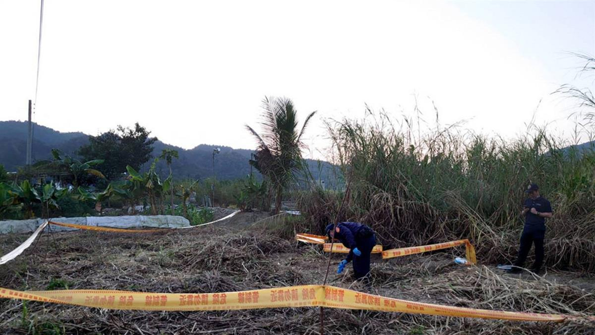 南投埔里農地驚見白骨  研判男性死亡逾半年