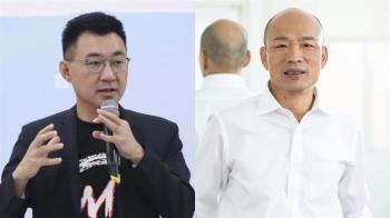 韓國瑜傳被勸進選黨魁 江啟臣:為黨好都尊重