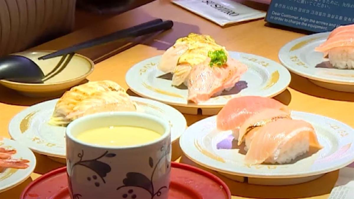 日本連鎖壽司店搶客戰 進駐百貨設置巨型壽司盤