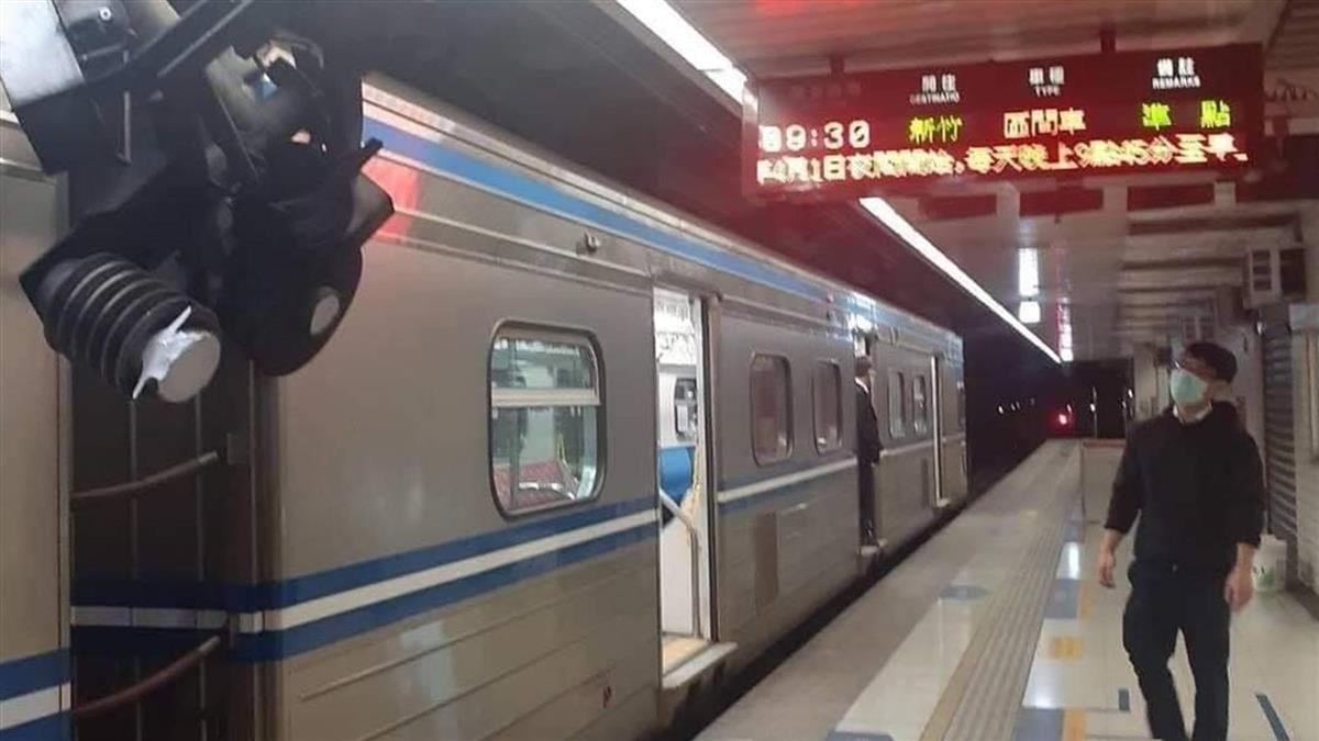 夫妻台鐵逃票136元被攔 下秒暴怒鎖喉、摔飛站務員