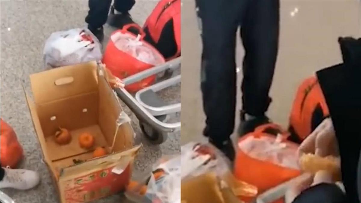 4壯漢嫌300元運費貴 就地嗑光30公斤橘子