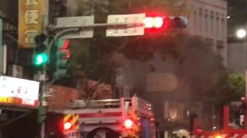 快訊/北市大安區火警!民宅2樓竄黑煙...3大3小被救出