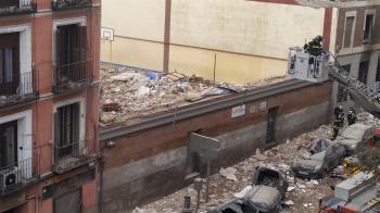 快訊/西班牙馬德里大爆炸 建築物全毀「瓦礫碎片掉滿地」