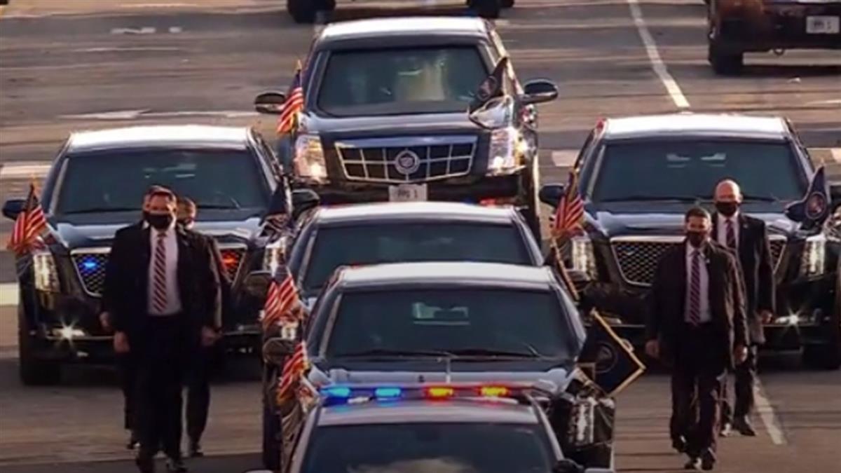 美總統拜登就職重兵戒備  華府僅有零星抗議